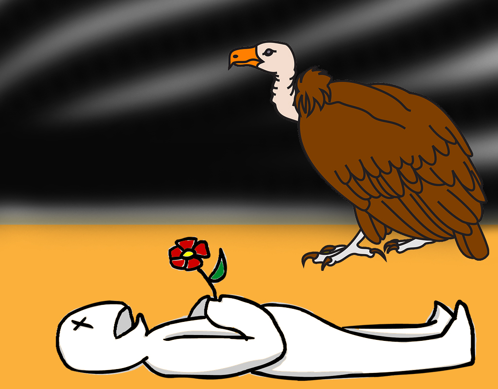 Avvoltoi dei funerali