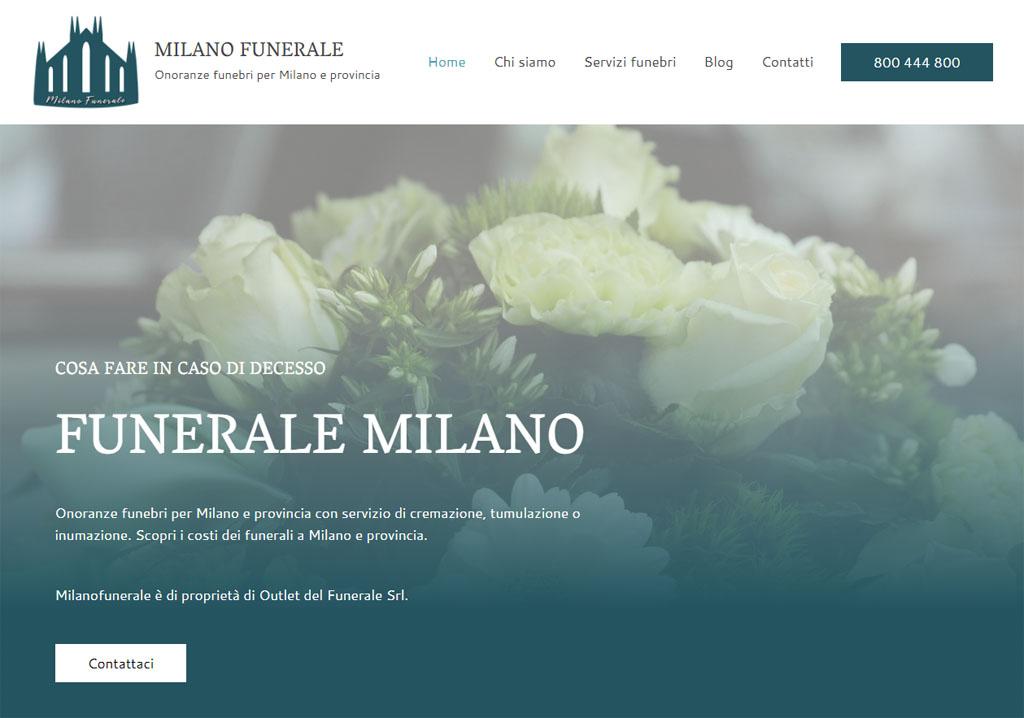 Funerali a Milano